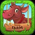 Funny Farm For Kindergarten Kids icon