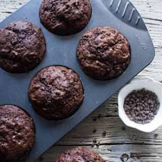 Big Double Chocolate Chip Muffins