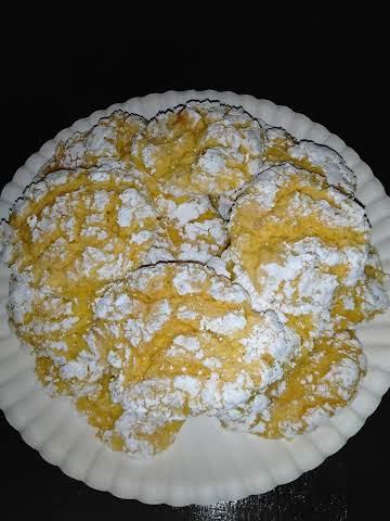 Lemon delights cookies