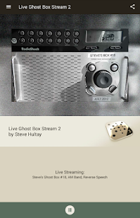 Live Ghost Box Stream 2- screenshot thumbnail