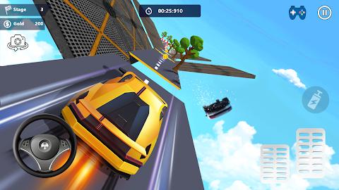 無料カースタント3D - 極上のシティカーレーシングのおすすめ画像2