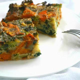 Sweet Potato and Broccoli Frittata