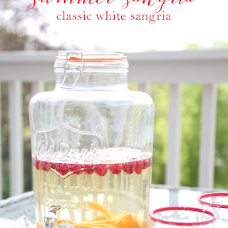 Summer Sangria | The Best White Sangria