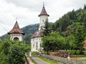 Photo: Ultrabug is an annual event which takesplace in the beautiful region of Bucovina, famous for its Painted Monasteries. Here, just a normal church, on the ultramarathon route.