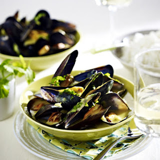 Mussels in Coconut Milk.
