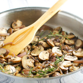 Sherry Glazed Rosemary Mushrooms