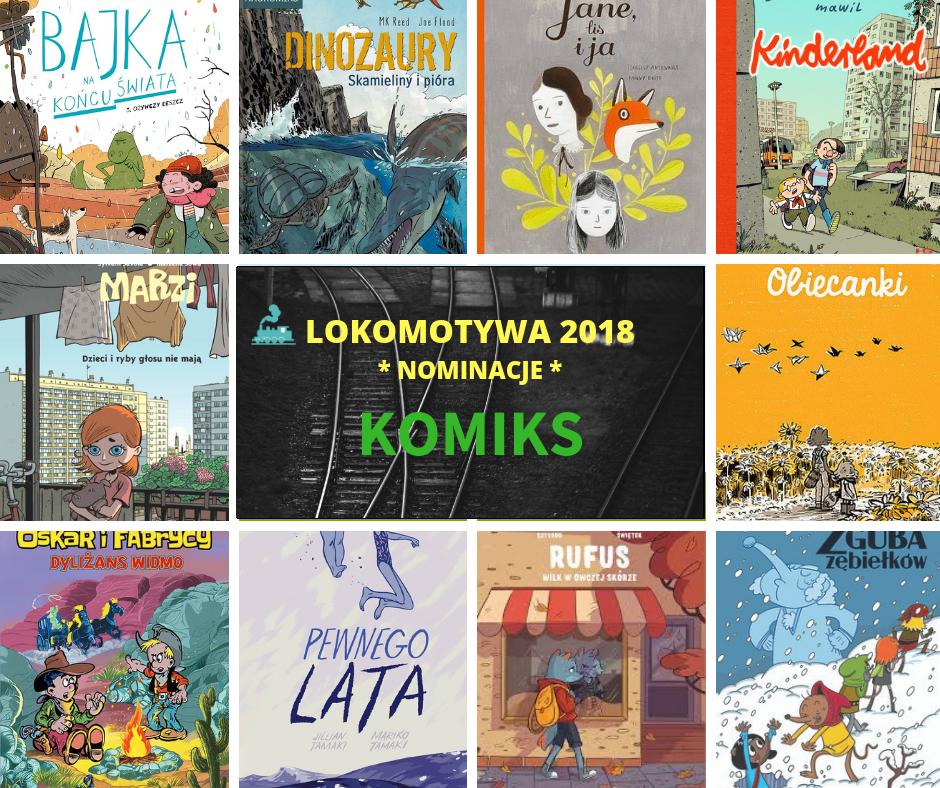 Lokomotywa - nominacje w kategorii Komiks