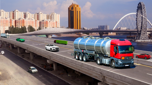 oil tanker truck cargo simulator game 2020 screenshot 2