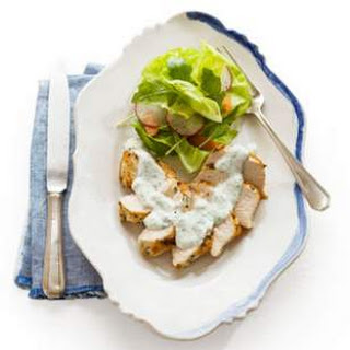 Chicken with Lemon Herb Cream Sauce Recipe