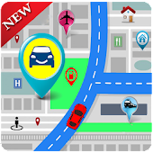 GPS Maps Tracker et navigation: GPS Route Finder
