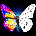 Tap Color Lite : Color by Number. Coloring Games icon