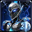 3D Transformation Robot Theme icon
