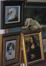 Photo: Mona-Lisa oli tarjolla lähes jokaisessa myymälässä - kiinalaisethan osaavat kopioida kaiken!