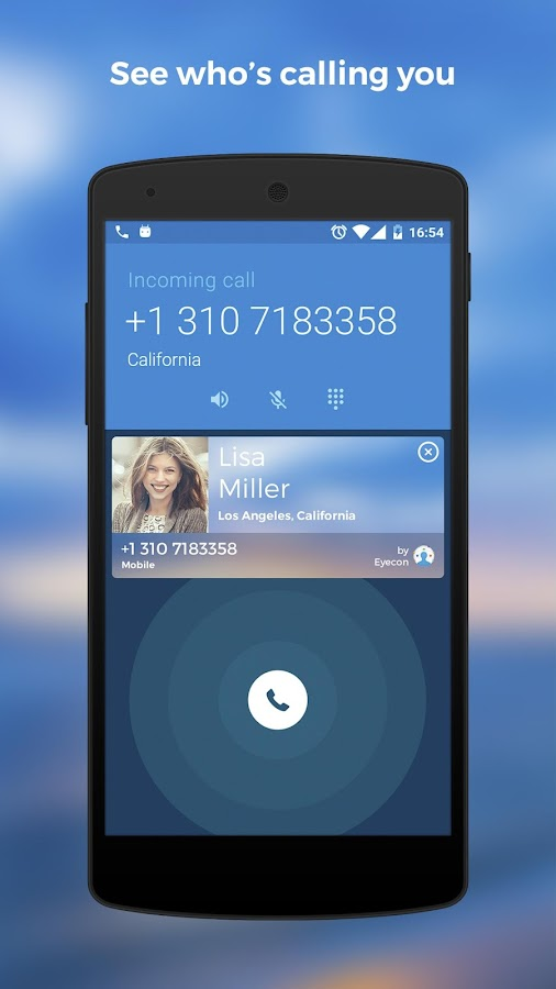 Get contact image using phone number in android