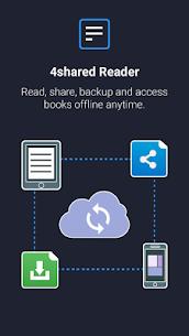 4shared Reader  – PDF, EPUB, DOC – Android APK Mod 2