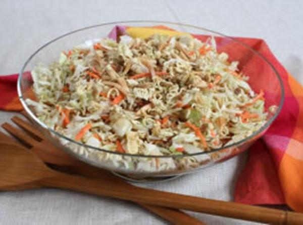 Asian Cole Slaw Salad Recipe