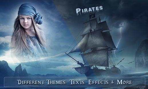 Fantasy Ship Photo Frames - náhled
