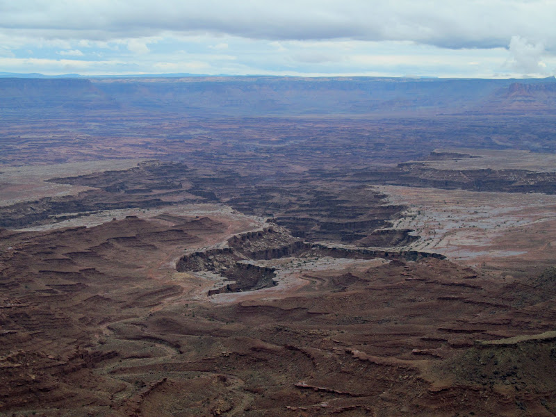 Photo: Buck Canyon viewed from Mesa Arch