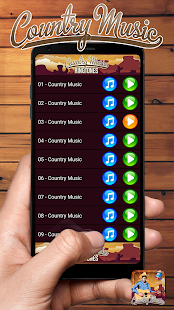 Country Music Ringtones Popular Songs - náhled
