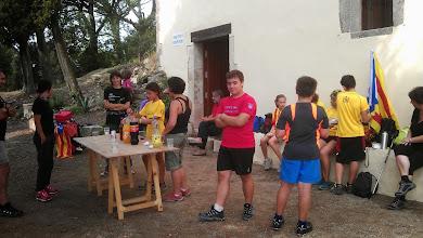 Photo: Esmorzant a l'Ermita de St. Pere