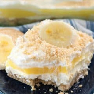 Banana Pudding Dream Dessert.