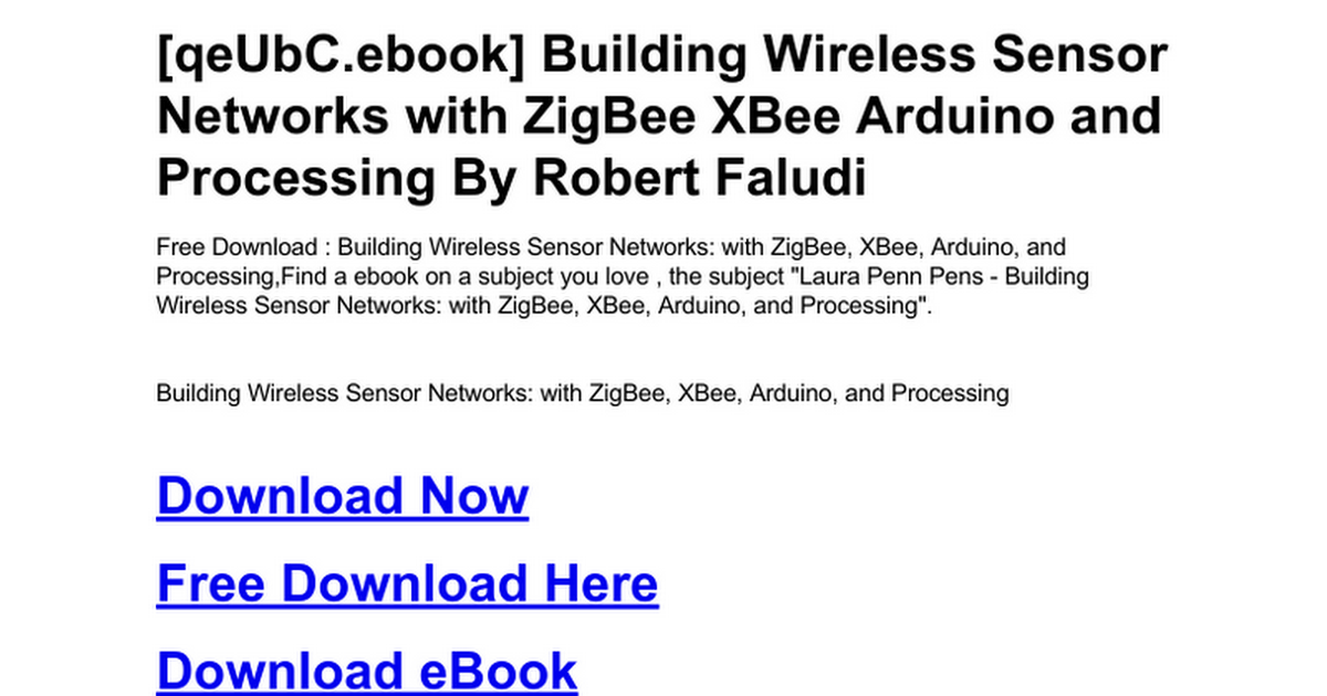 building-wireless-sensor-networks-with-zigbee-xbee-arduino-and