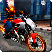 Ghost Bike Hero Blaze Fire Skull Rider Battle
