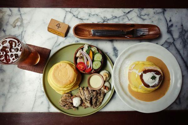 kichi│老宅鬆餅屋,鬆軟厚實的舒芙蕾鬆餅,隱身在北屯公園巷弄內,台中日式鬆餅、咖啡,近北屯公園