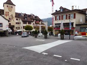 Photo: Die neu gestaltete Kreuzung beim Törli
