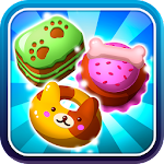 Hungry Pet Mania Match 3 - Cute Puppy Puzzle Game Icon
