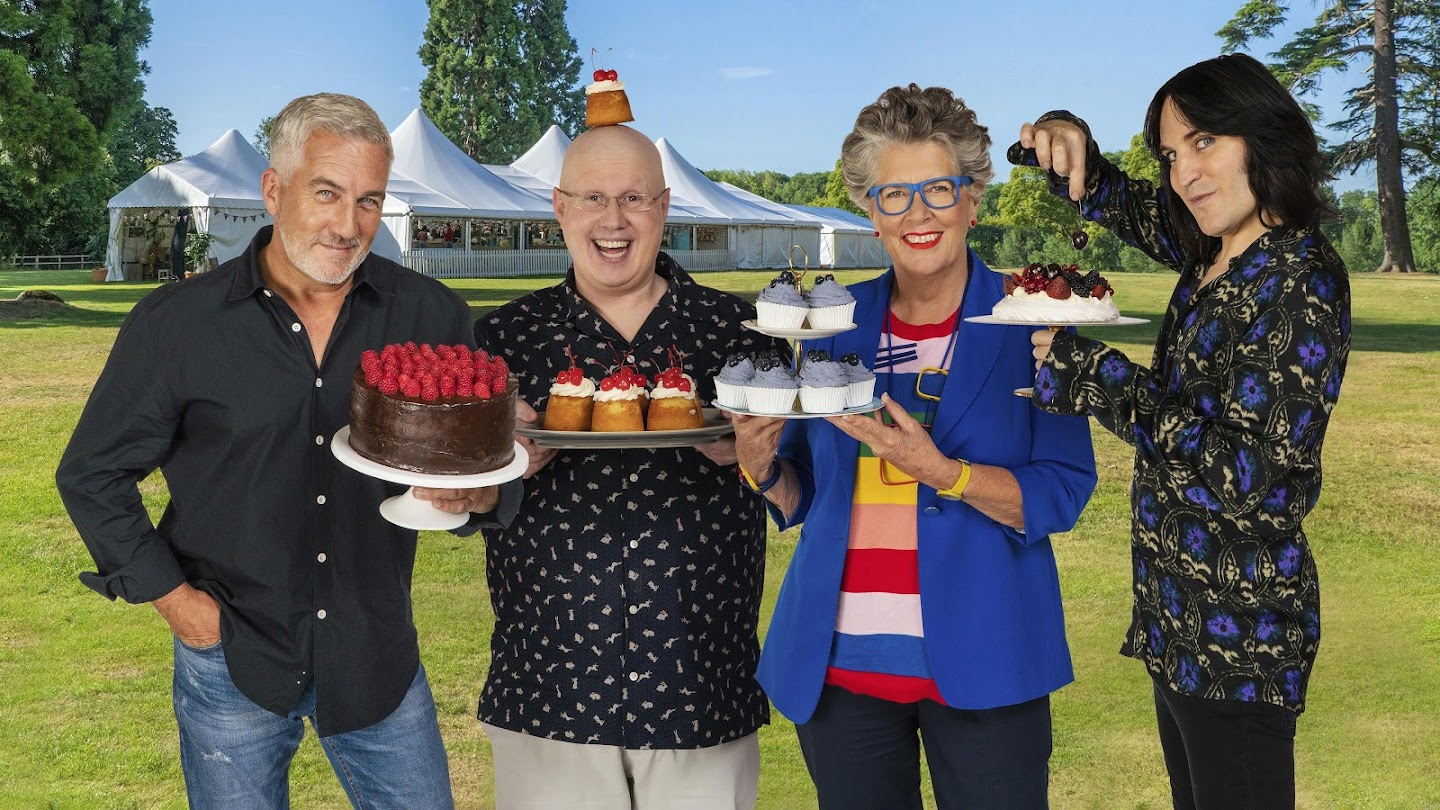 Watch The Great British Baking Show live
