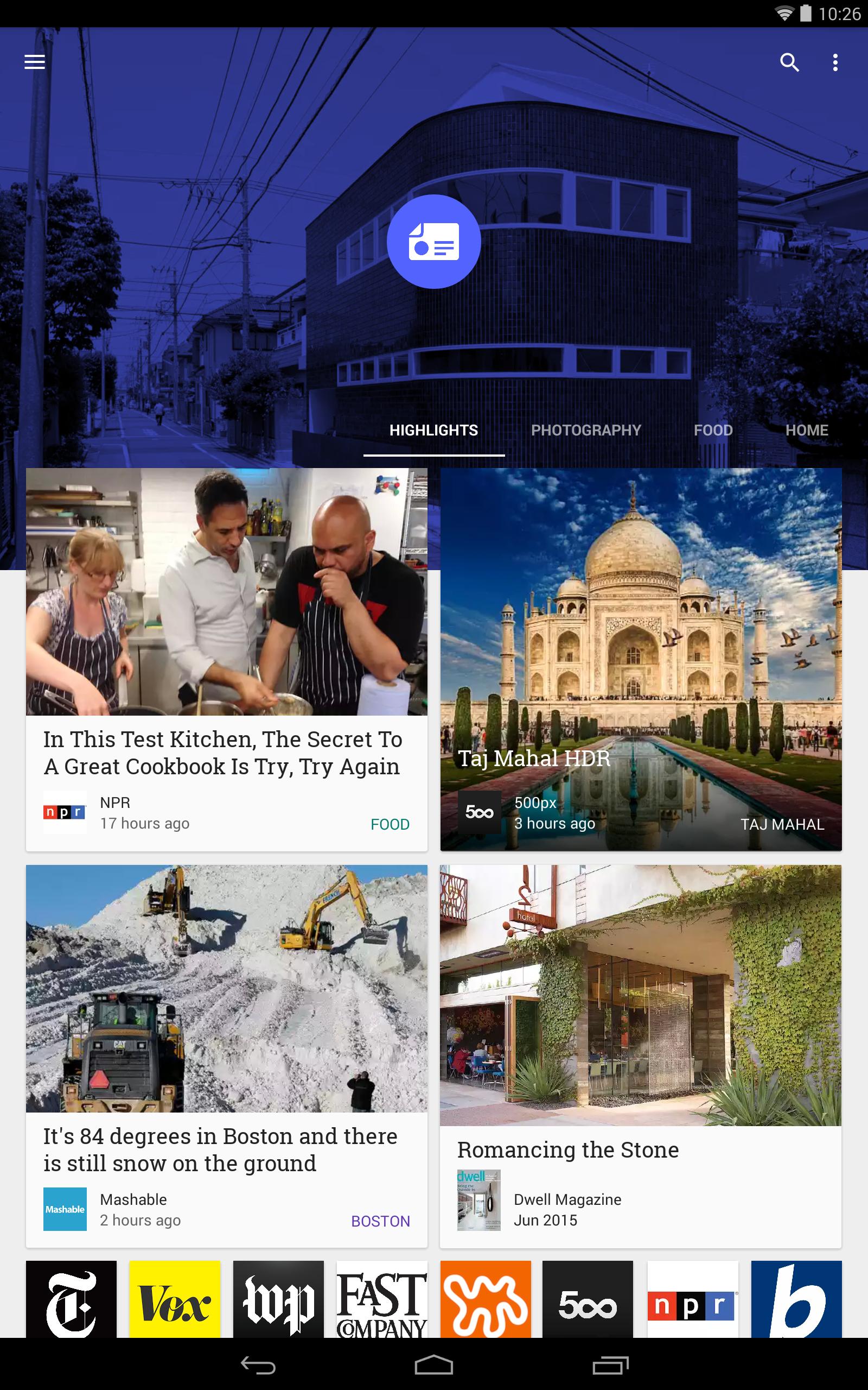Google Play Newsstand screenshot #7