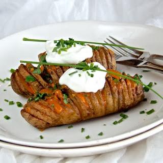 Swedish Hasselback Potatoes.