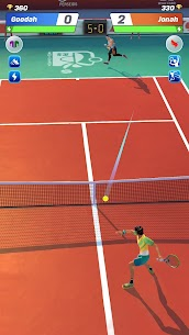 Tennis Clash Mod Apk 2.1.1 [Unlimited Money + Gems] 2