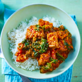 Lamb And Lentil Curry.