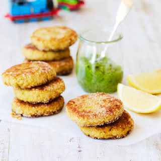 Tasty Salmon and Millet Rissoles.