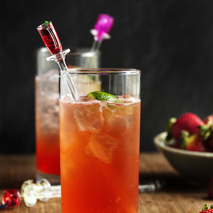 Strawberry and Lime Vodka Collins Recipe