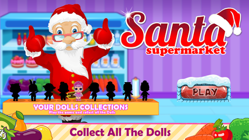Santa Supermarket Shopping screenshot 3