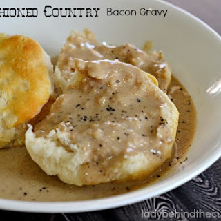 Old Fashioned Country Bacon Gravy