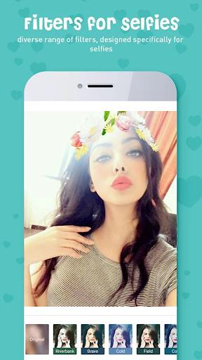 Sweet Camera, Face Filter, Selfie Editor, Collage 2.0.2 Screenshots 1