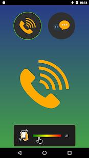 FCR Call Escape - Shake for fake call Screenshot