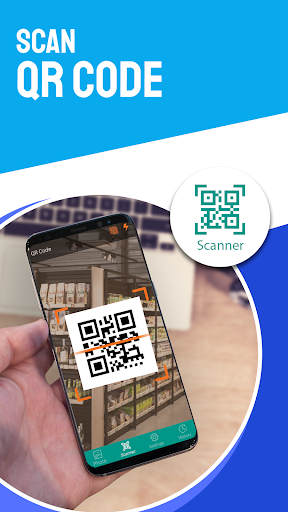QR code scanner for android & Bar-Code,qr-barcode screenshots 1