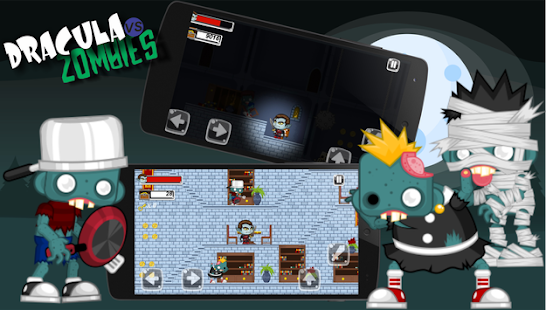 Dracula vs Zombies for PC-Windows 7,8,10 and Mac apk screenshot 2