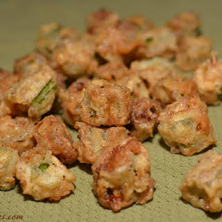 Fried Okra Without Cornmeal Recipes.