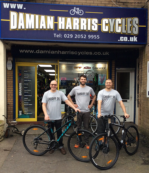 Damian Harris Cycles 1st Prizes