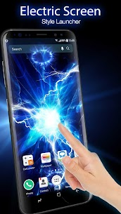 Electric Screen for Prank Live Wallpaper &Launcher App Download For Android 1