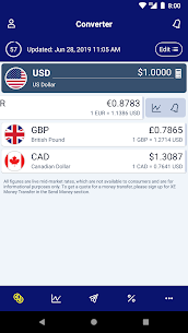 XE Currency Converter Money Transfer v6.5.6 Pro APK 1