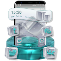 Crystal Cube Launcher Theme icon