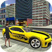 City Taxi Driver 2017: Chained Car Simulator Game