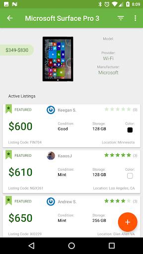 Swappa screenshot